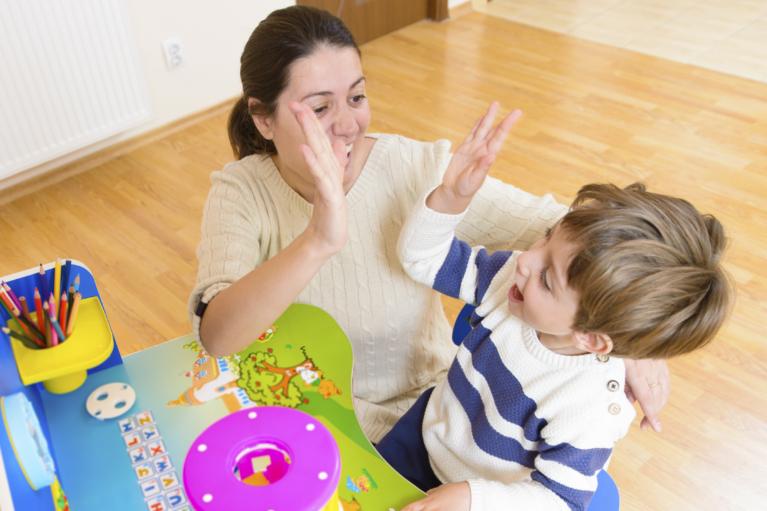 Terapie ABA, Autism